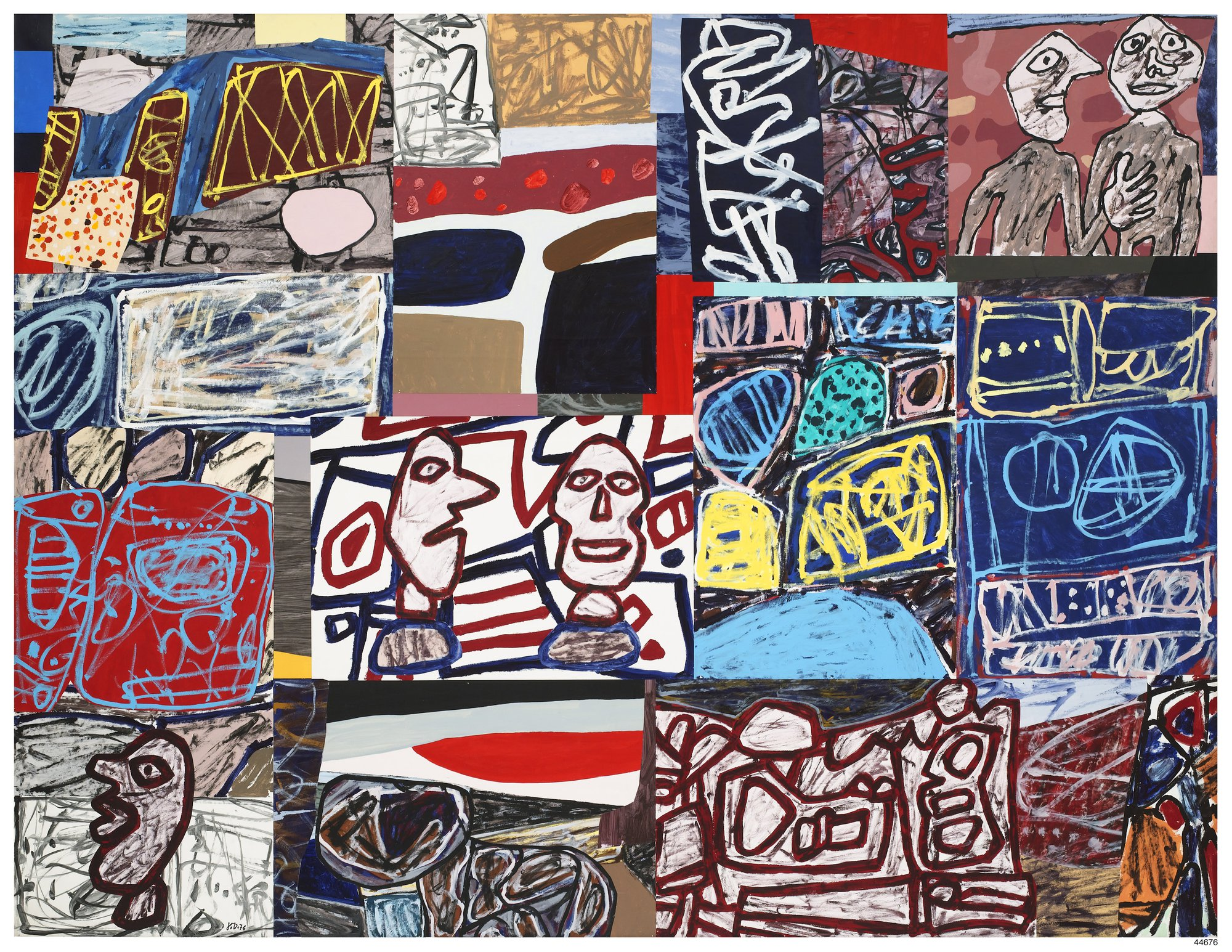 Anette Michel H jean dubuffet | pace gallery