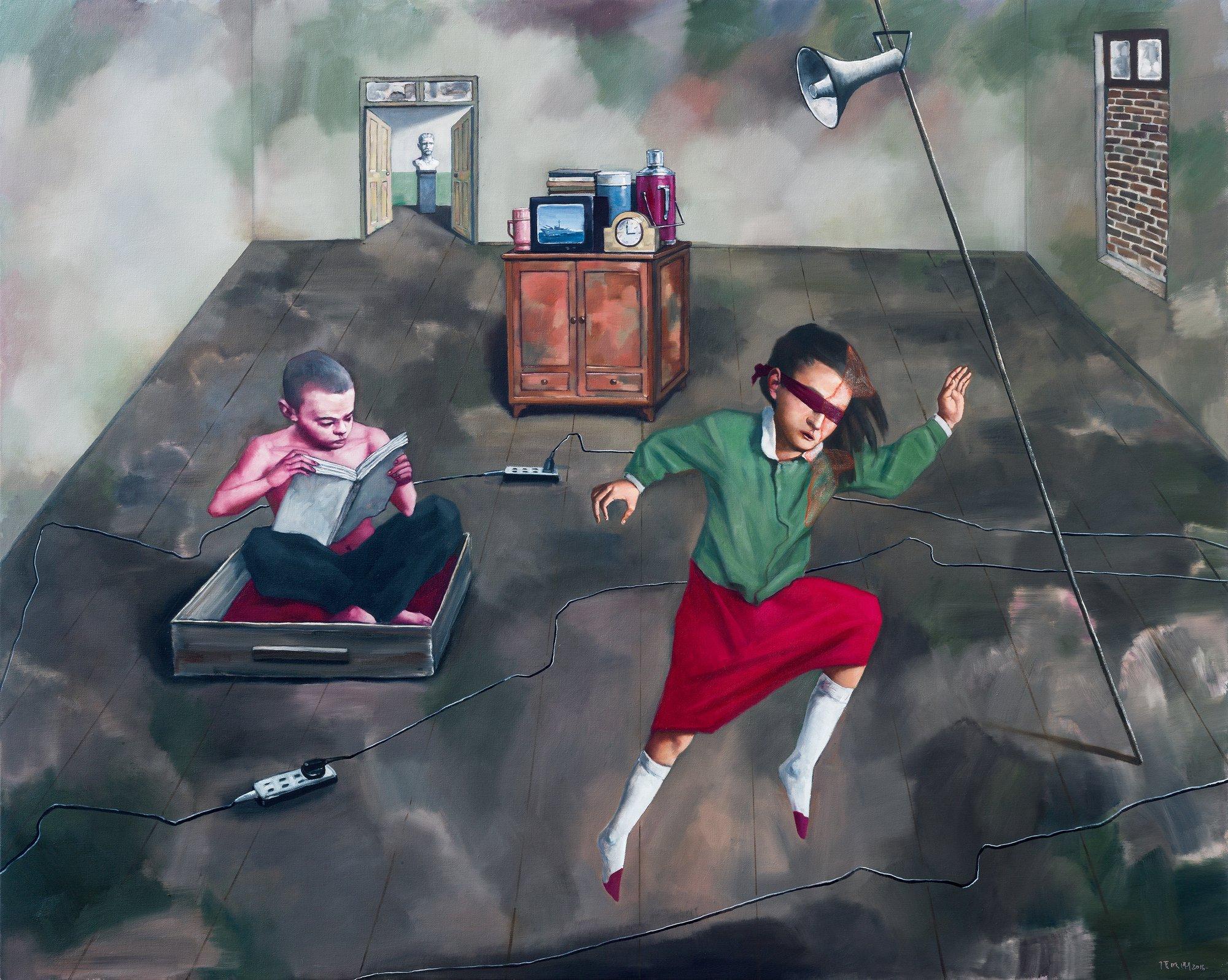 Zhang Xiaogang | Pace Gallery