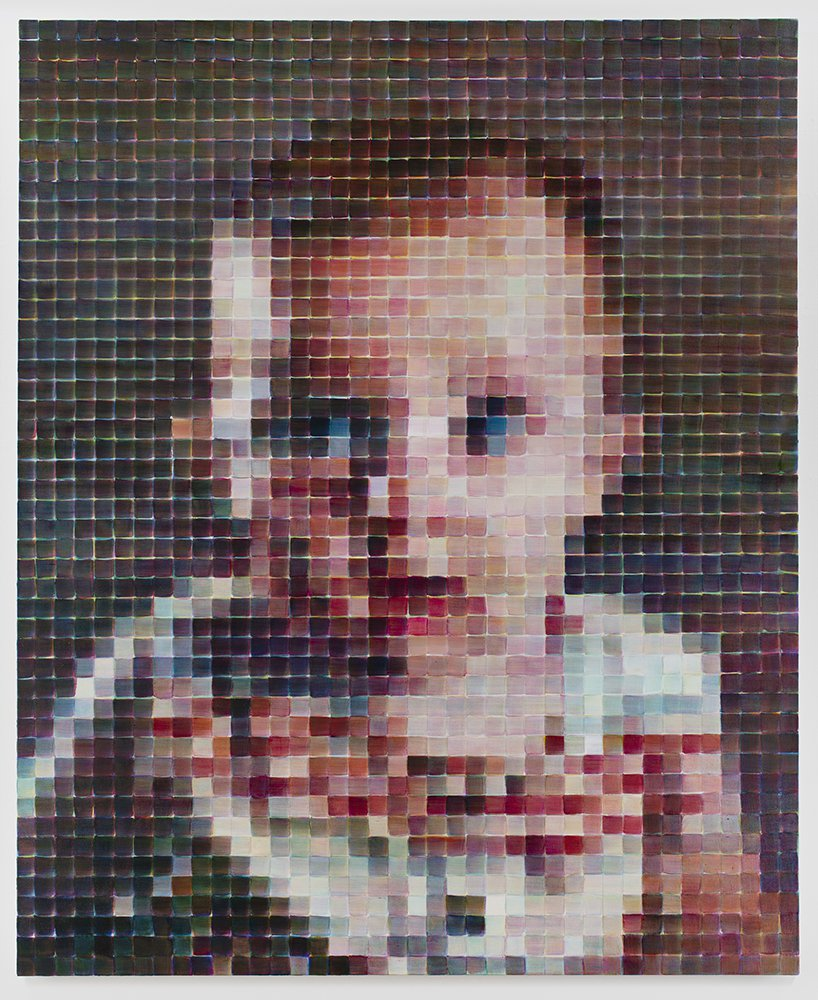 Chuck Close Pace Gallery